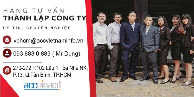 Dịch Vụ Thành Lập công ty tại Quận Tân Bình TP HCM