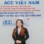 Dịch vụ kế toán trọn gói của ACC Việt Nam uy tín chuyên nghiệp